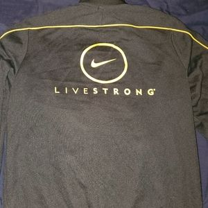 Nike livestrong track jacket.